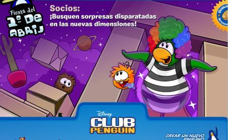 Startup Screen Club Penguin